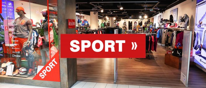 City Outlet Linz Passage Sport