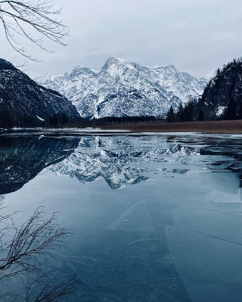 Eisbaden - Meine persönlichen Lieblingsplätze: City Outlet Blog Philipp Rafetseder Eisbaden Almsee