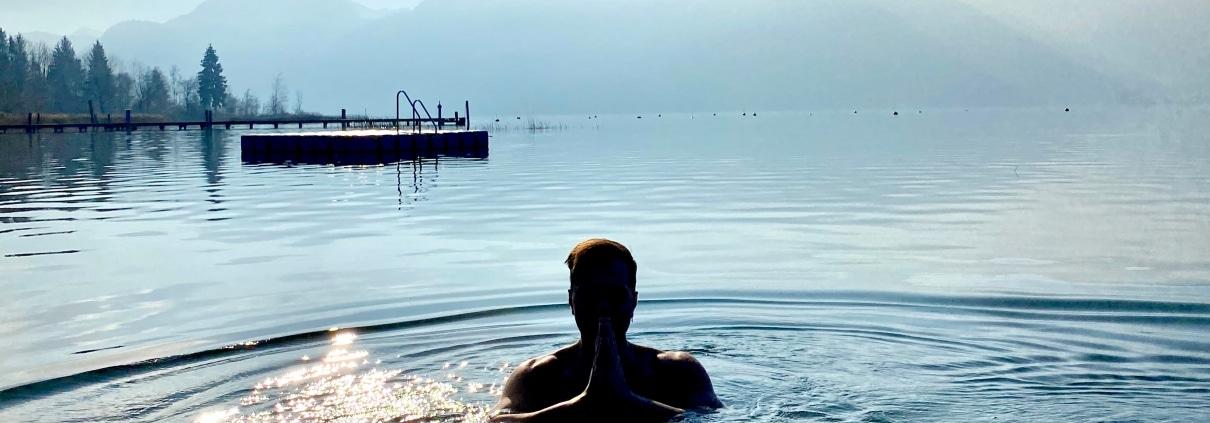 Eisbaden - Meine persönlichen Lieblingsplätze: City Outlet Blog Philipp Rafetseder Eisbaden See