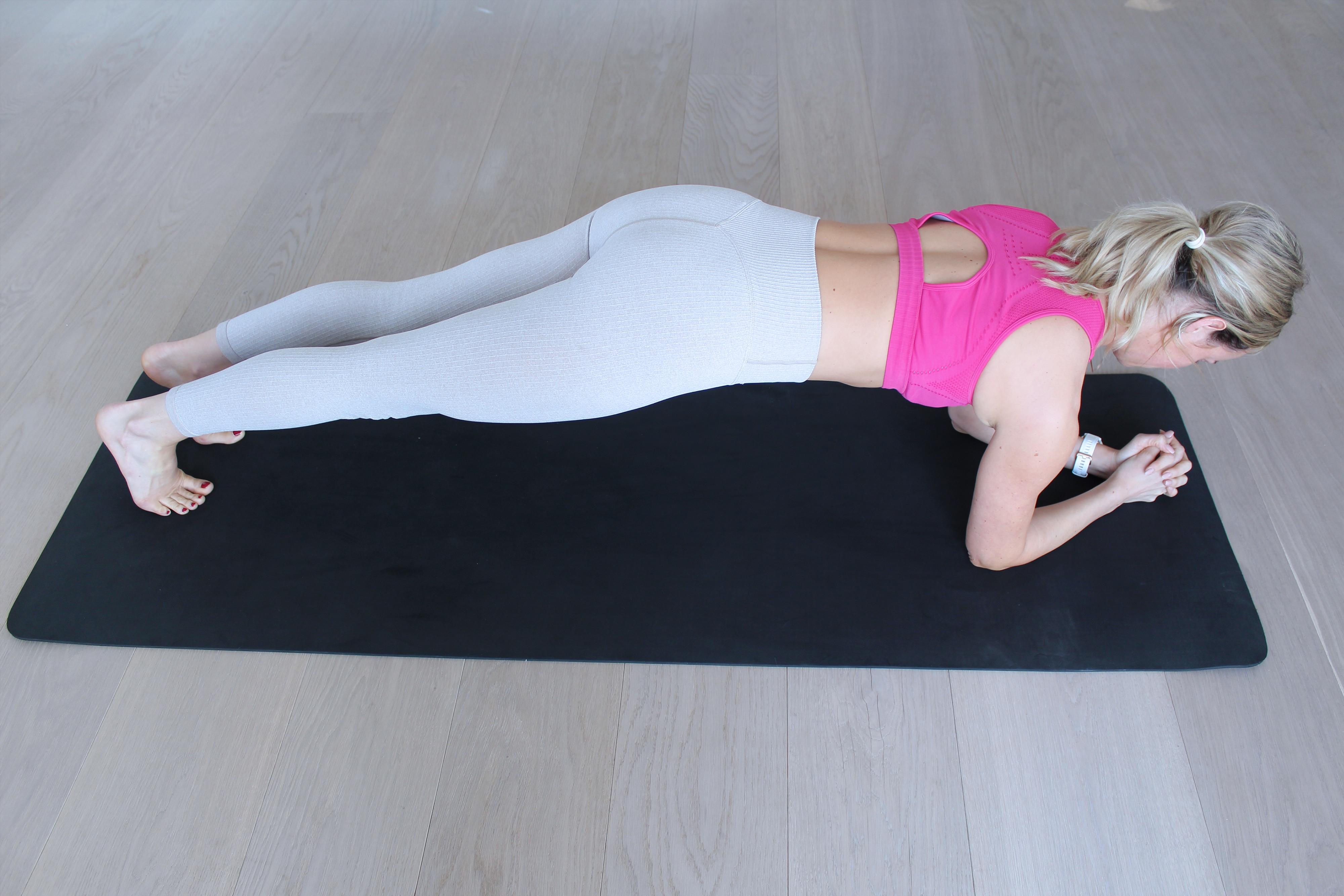 Bauch Übungen City Outlet Blog menafit Low Plank
