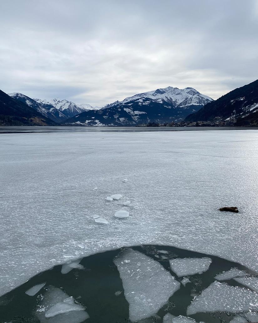 Eisbaden - Meine persönlichen Lieblingsplätze: City Outlet Blog Philipp Rafetseder Eisbaden Zellersee