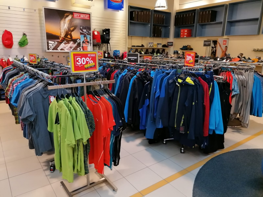 City Outlet Haid Sportabteilung