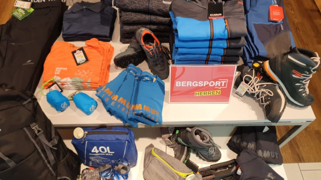 City Outlet Linz Passage Sport Bergsport