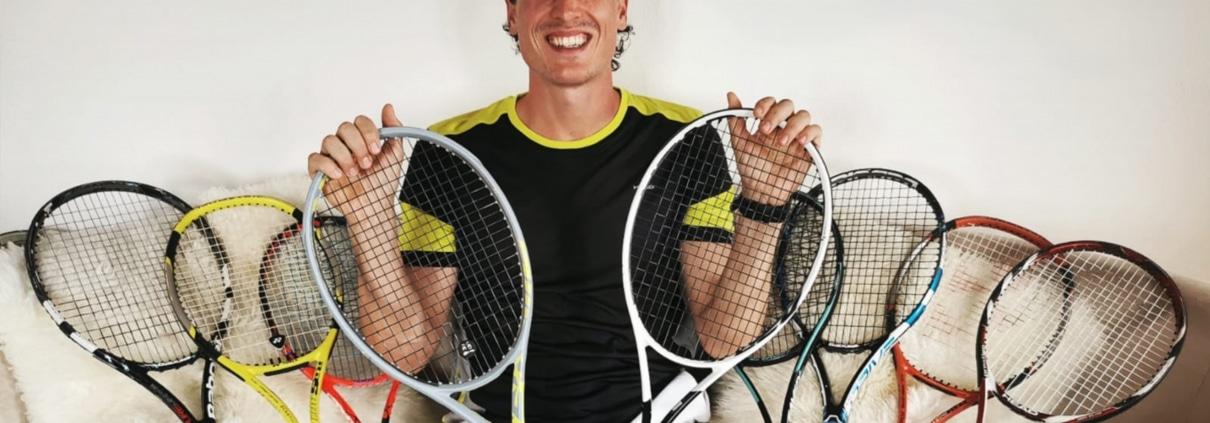 Welcher Tennisschläger City Outlet Blog Dominik Wirlend