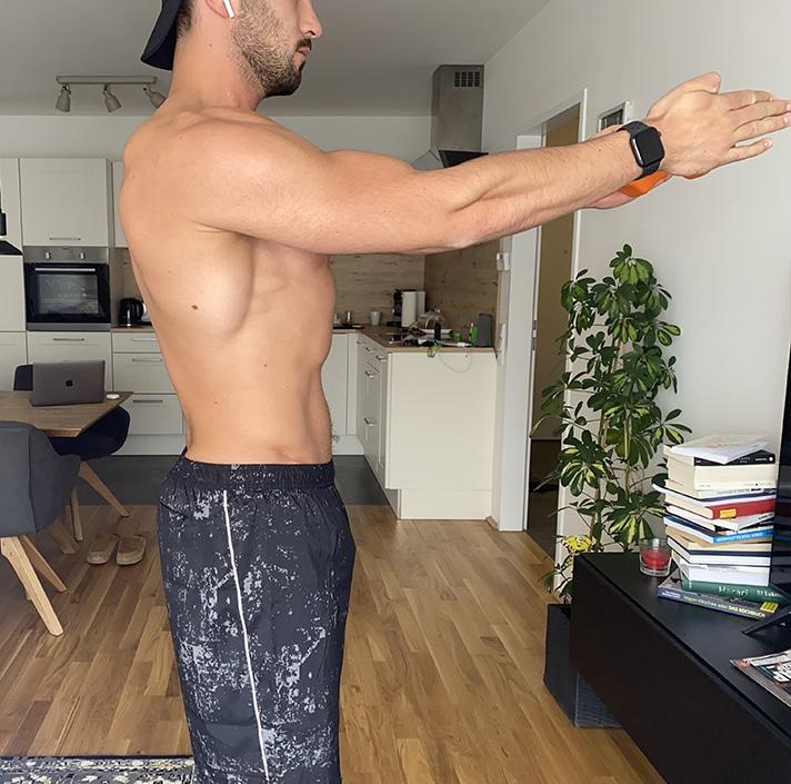 Kurzhantel Übungen City Outlet Blog Philipp Rafetseder Schulterdrücken Endposition