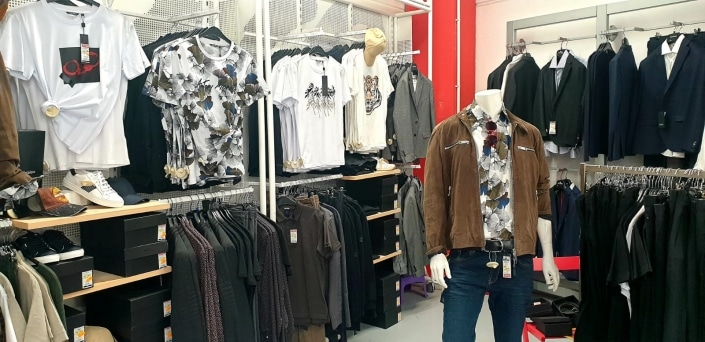 City Outlet Wels West Modeabteilung Herren