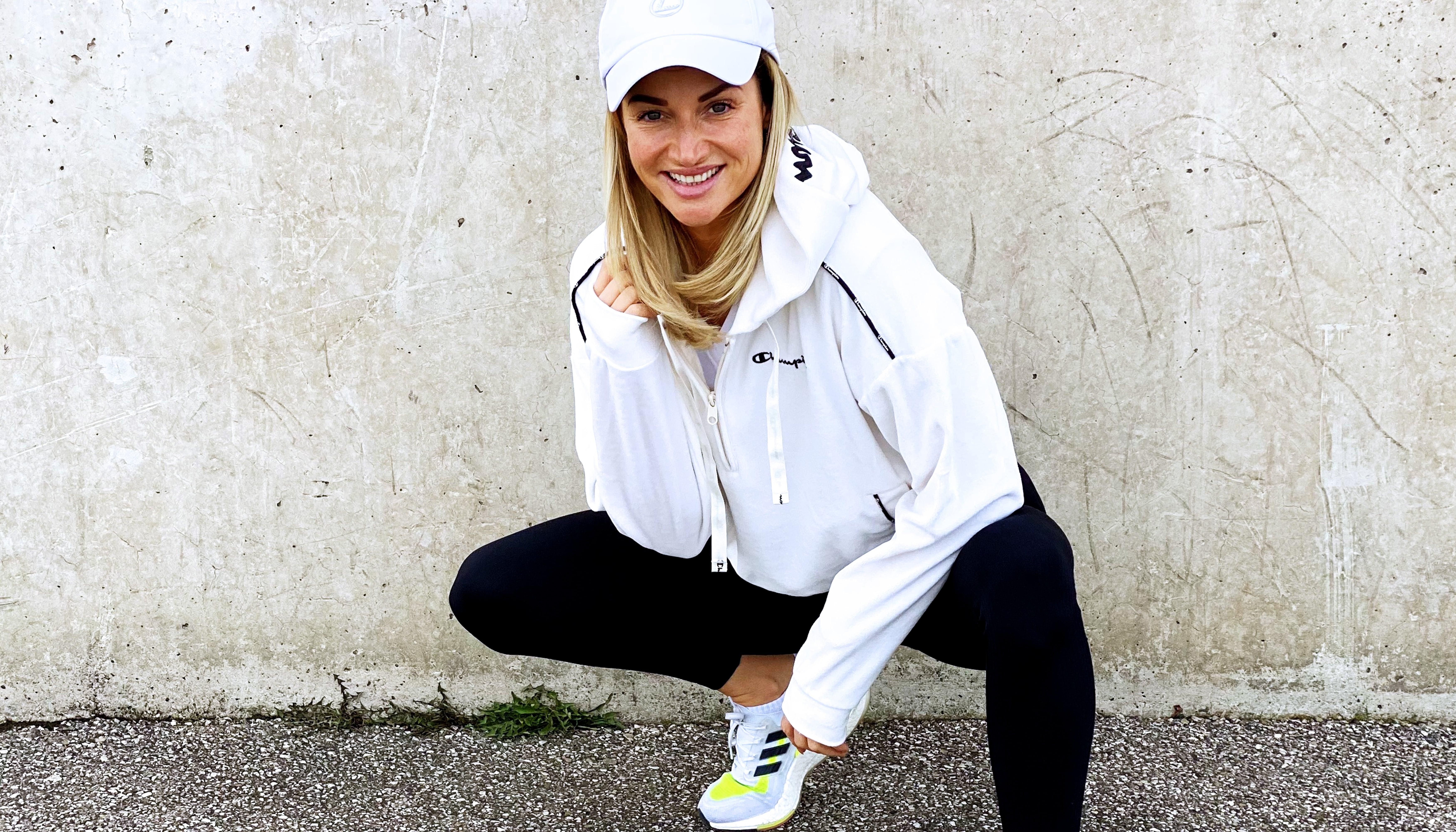 Schweinehund überwinden! City Outlet Blog Magdalena Henkel menafit Sportoutfit