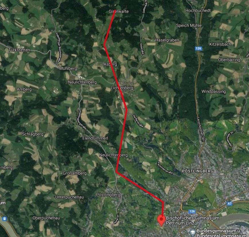 Laufstrecken Linz City Outlet Blog Philipp Rafetseder Gis