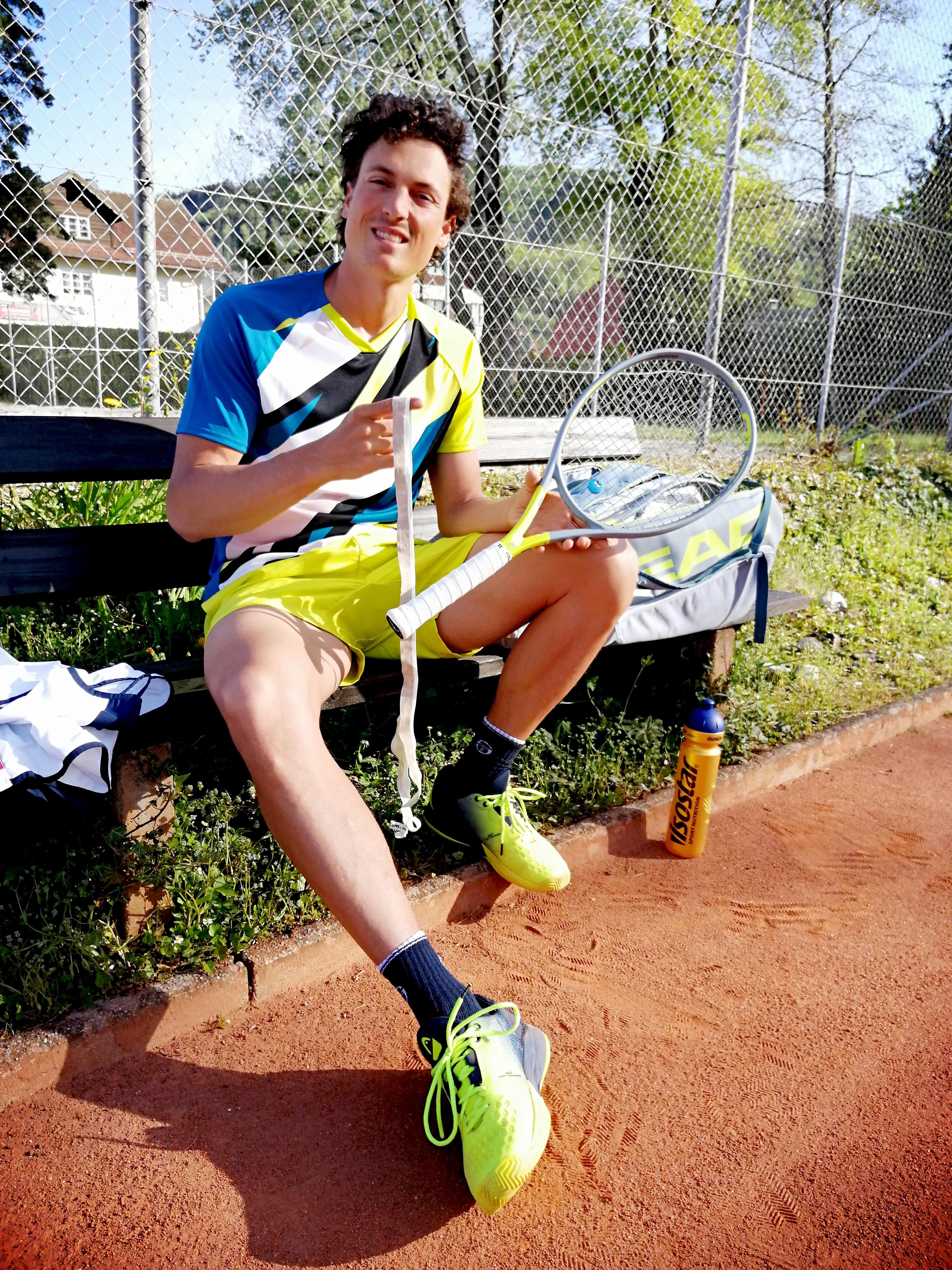 Tennis Zubehör City Outlet Blog Dominik Wirlend Griffbänder