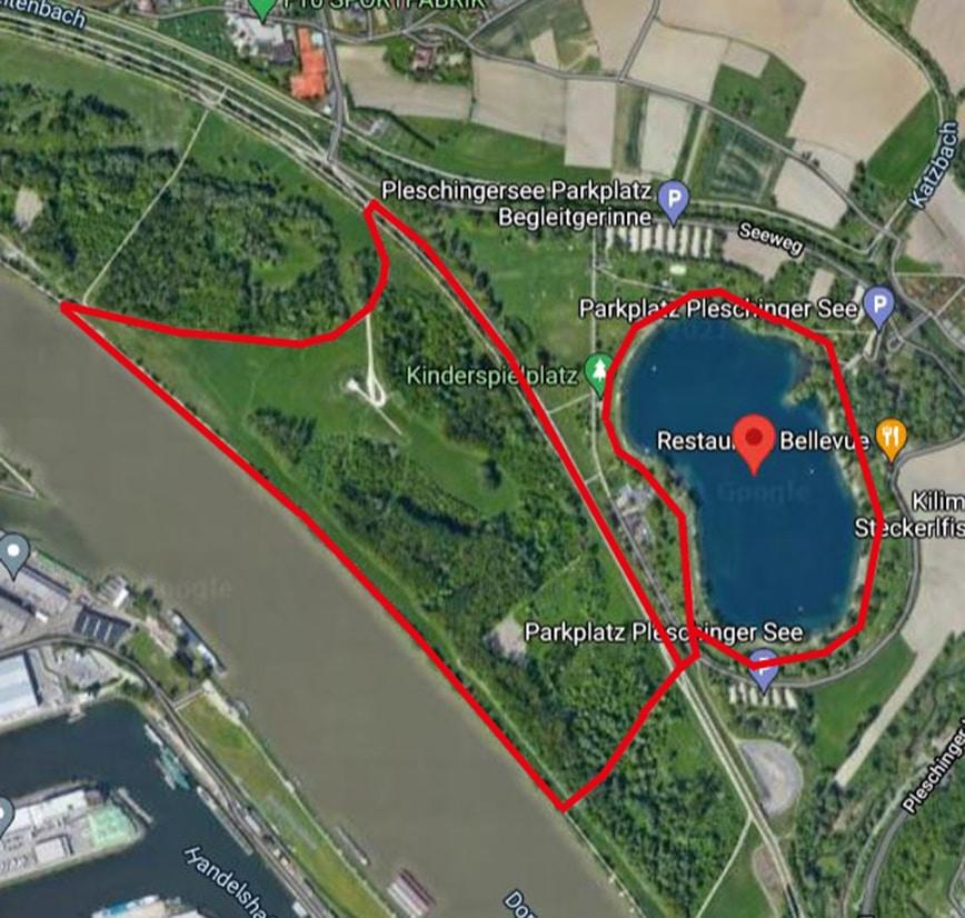 Laufstrecken Linz City Outlet Blog Philipp Rafetseder Pleschinger See