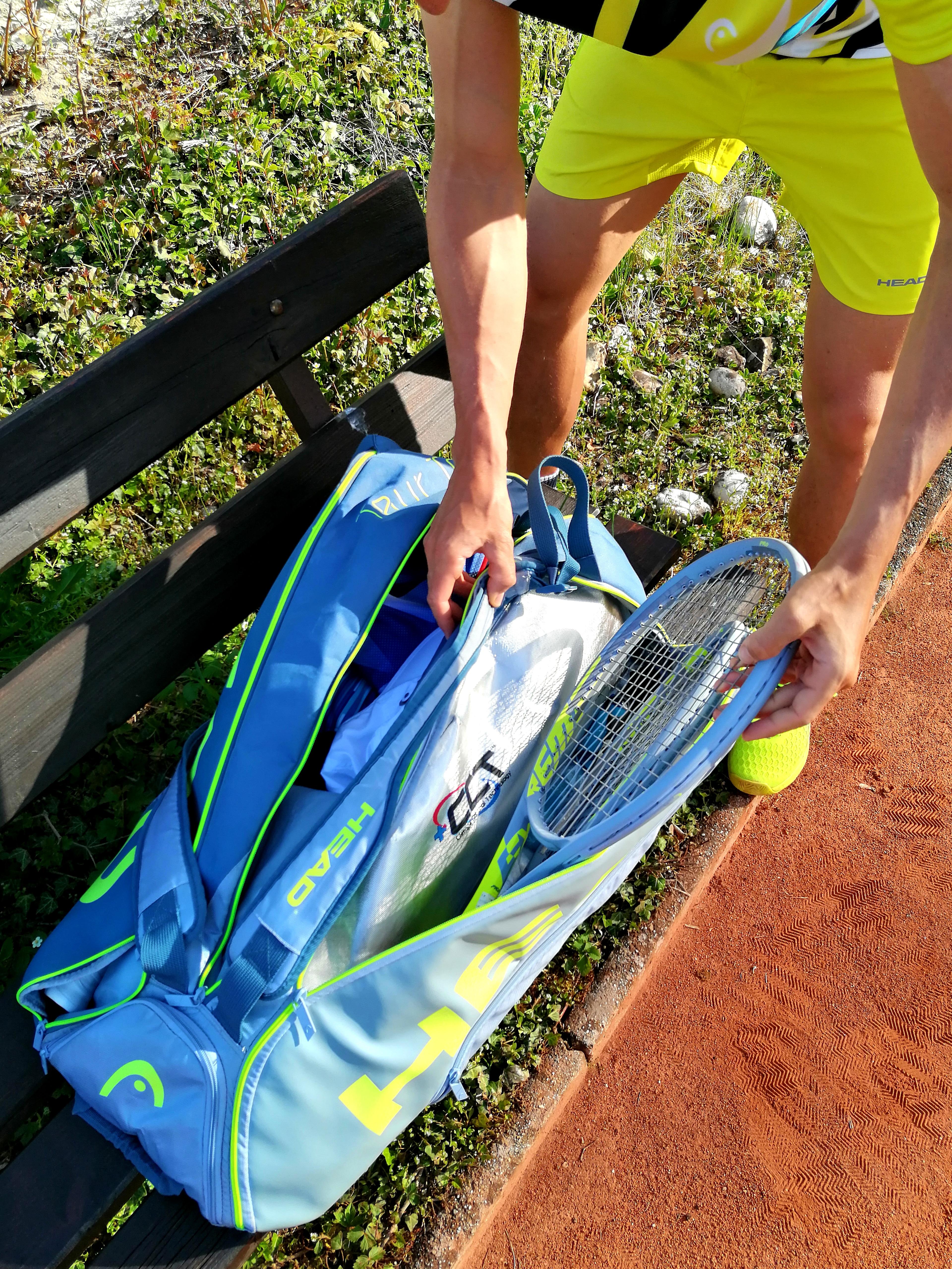 Tennis Zubehör City Outlet Blog Dominik Wirlend Tennistasche