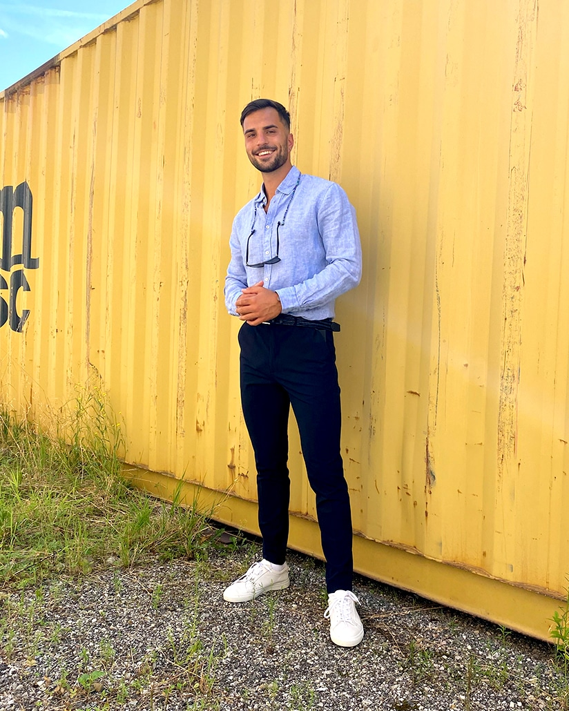 Sommer Outfit Herren City Outlet Blog Philipp Rafetseder Business Outfit