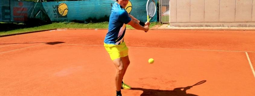 Tennis Vorhand & Tennis Rückhand City Outlet Blog Dominik Wirlend