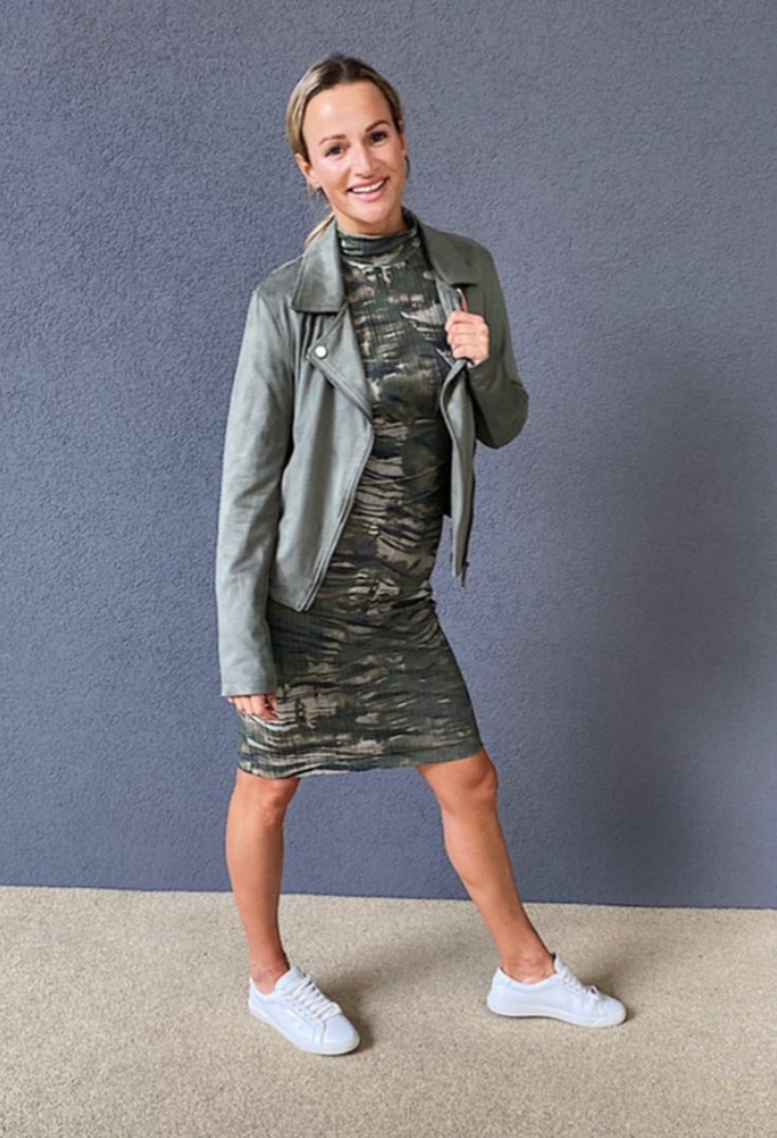 Herbst Outfit City Magdalena Henkel menafit Kleid