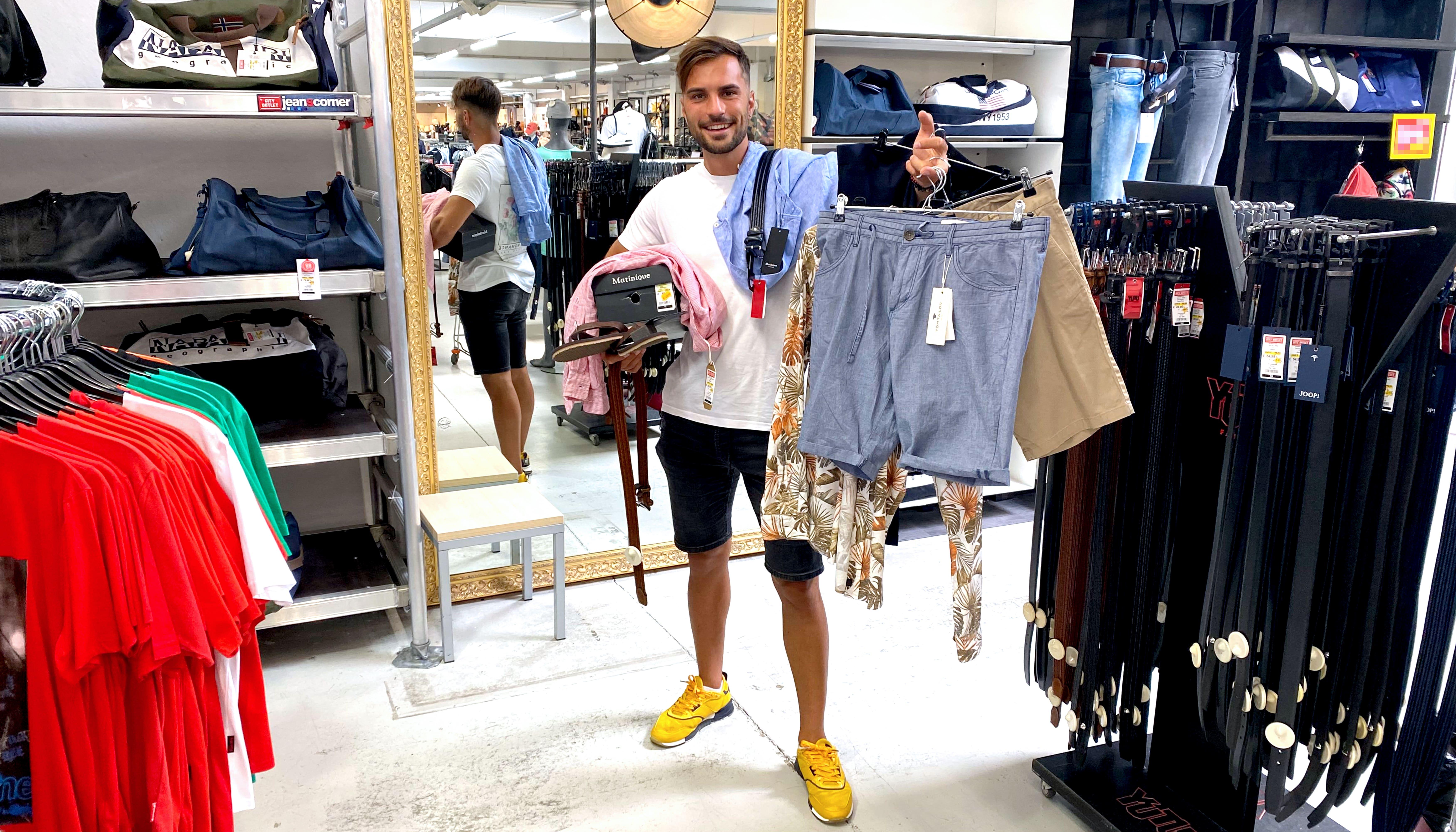 Sommer Outfit Herren City Outlet Blog Philipp Rafetseder