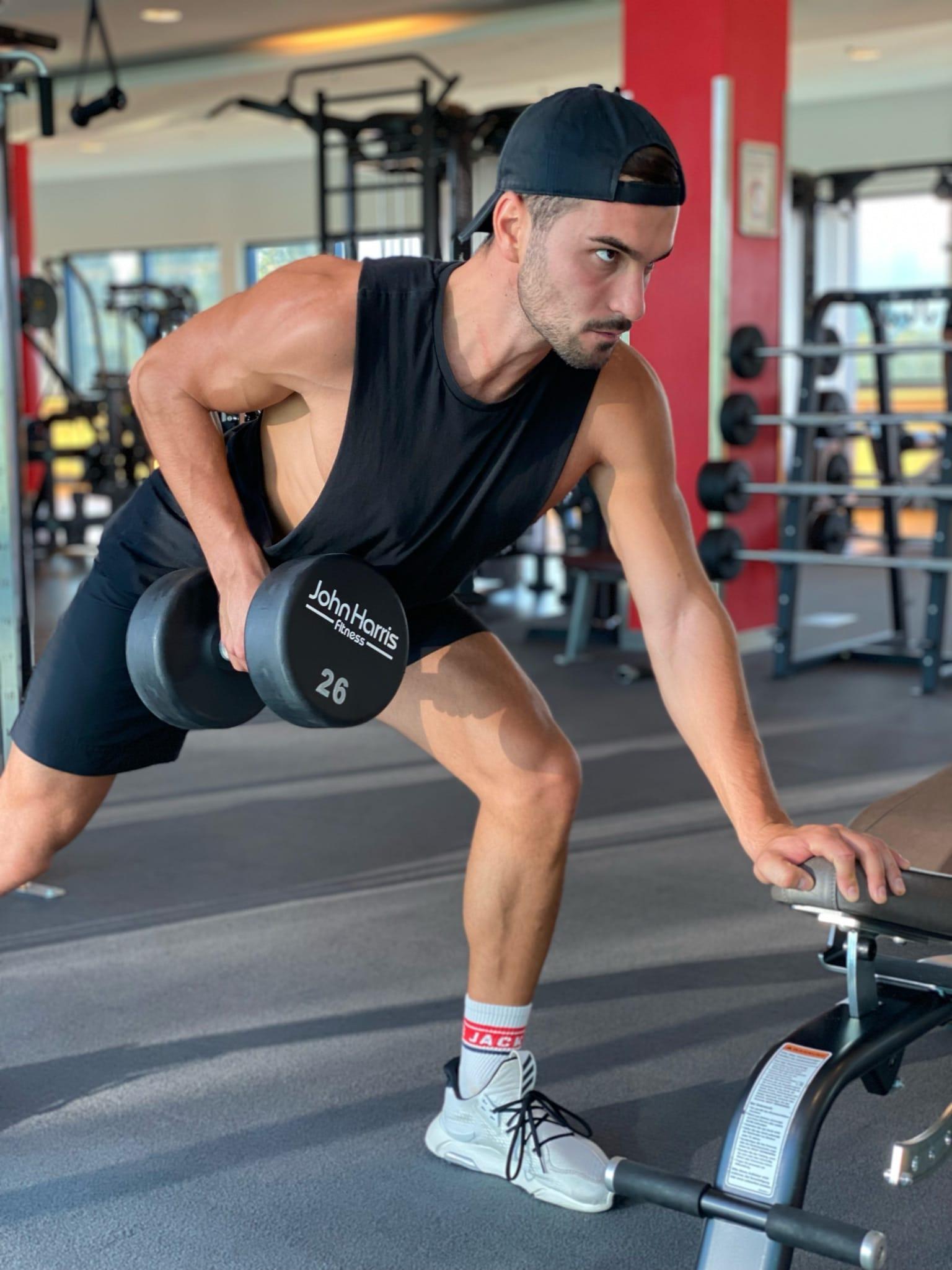 Trainingsplan 4er Split Kurzhantel Rudern City Outlet Blog Philipp Rafetseder