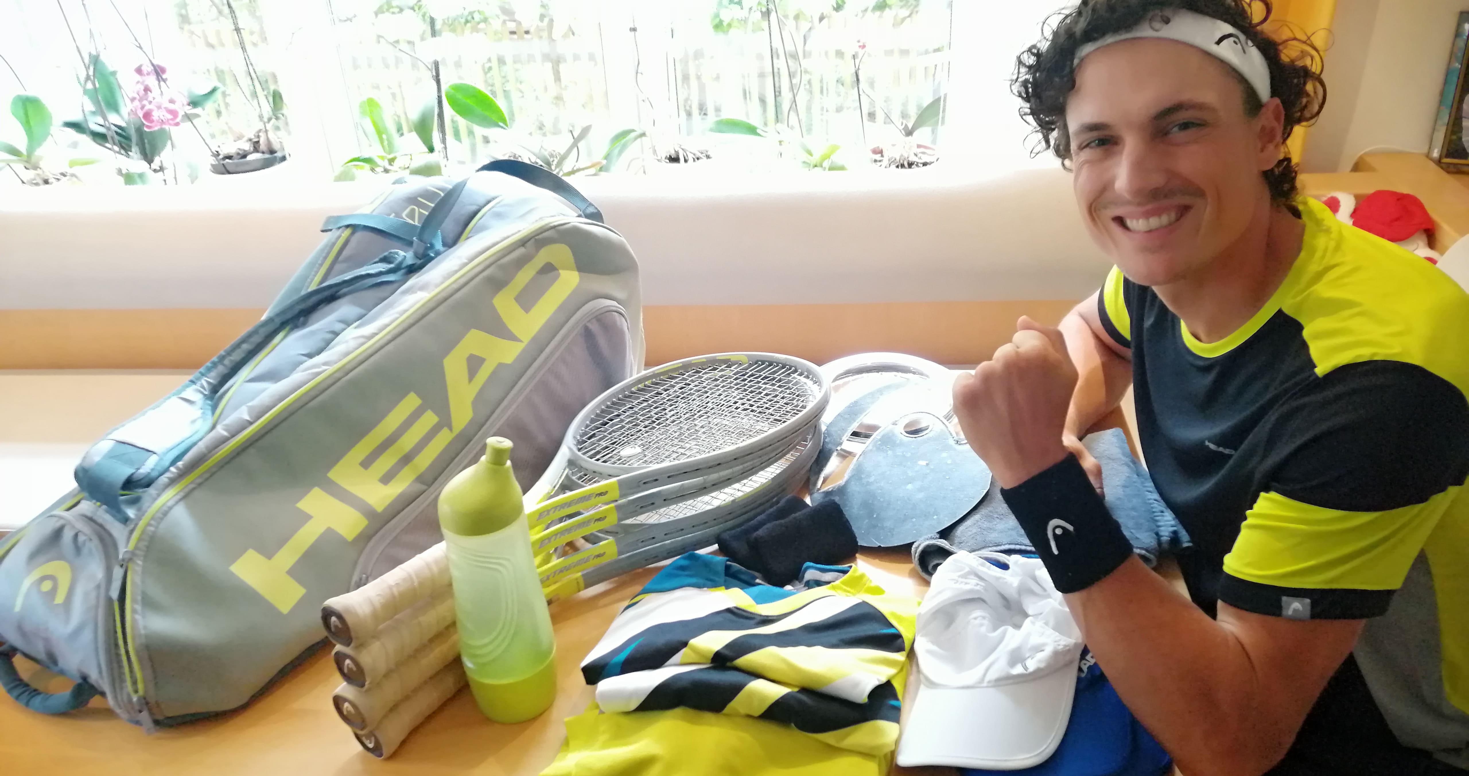 Fehler beim Tennis City Outlet Blog Dominik Wirlend Vorbereitung