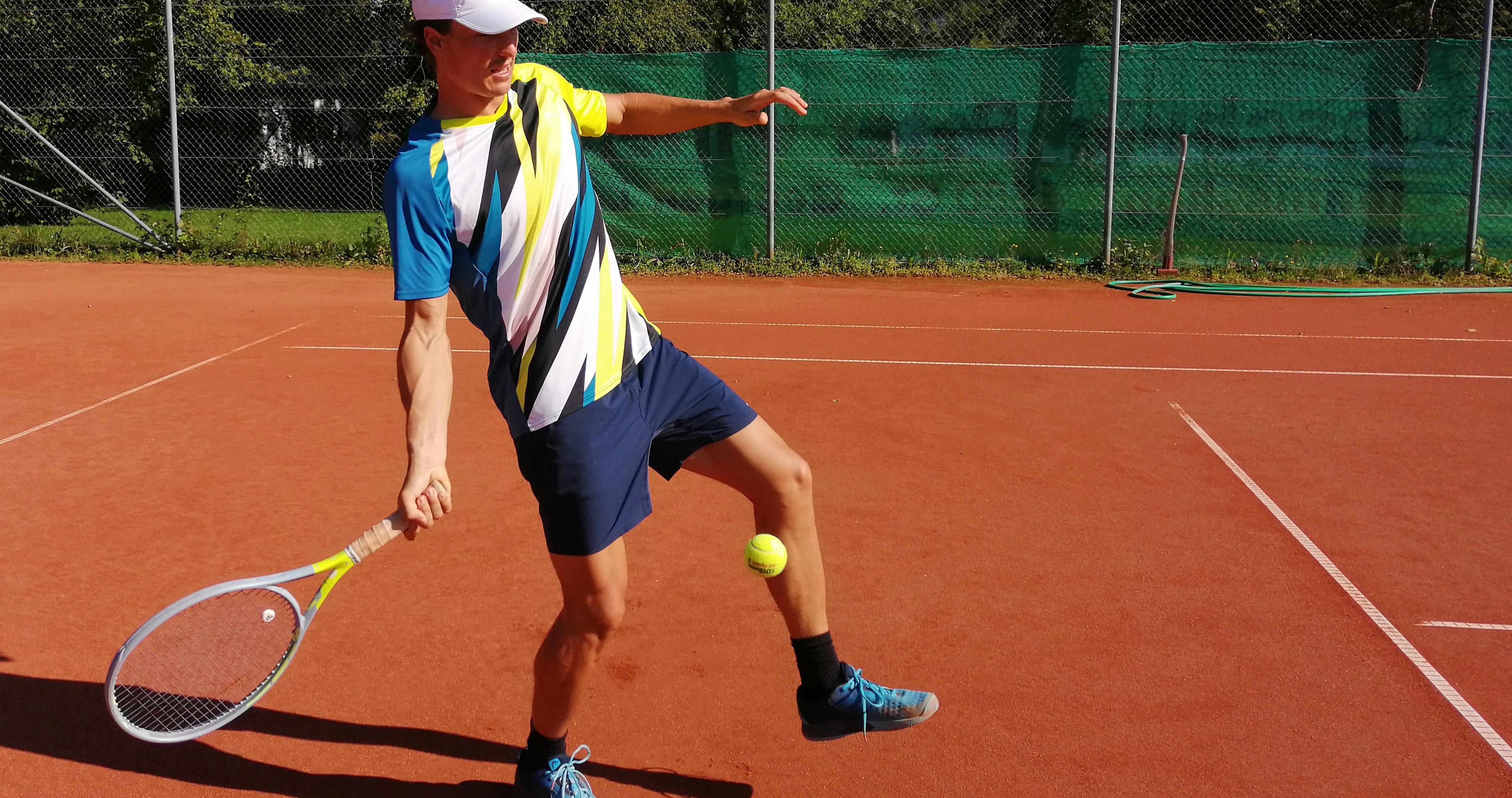 Fehler beim Tennis City Outlet Blog Dominik Wirlend Treffmoment zu spät